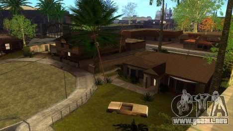 Nuevas texturas en HD casas en grove street v2 para GTA San Andreas twelth pantalla