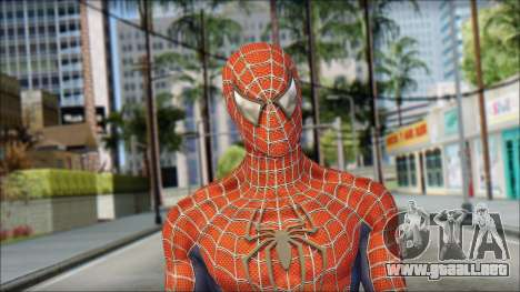 Red Trilogy Spider Man para GTA San Andreas tercera pantalla
