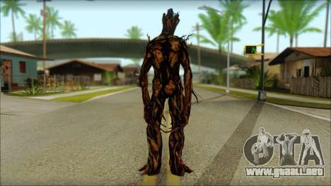 Guardians of the Galaxy Groot v2 para GTA San Andreas segunda pantalla
