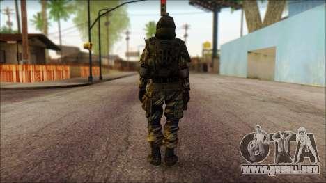 Los soldados de la UE (AVA) v1 para GTA San Andreas segunda pantalla