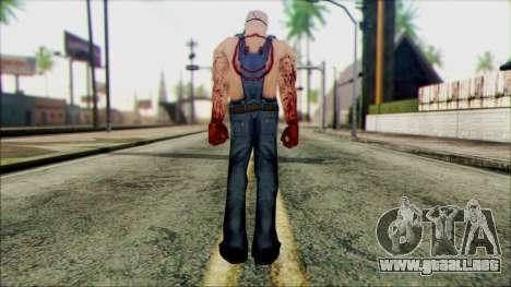 Manhunt Ped 15 para GTA San Andreas segunda pantalla