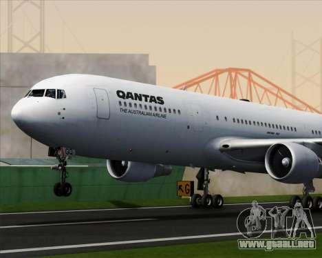 Boeing 767-300ER Qantas para el motor de GTA San Andreas