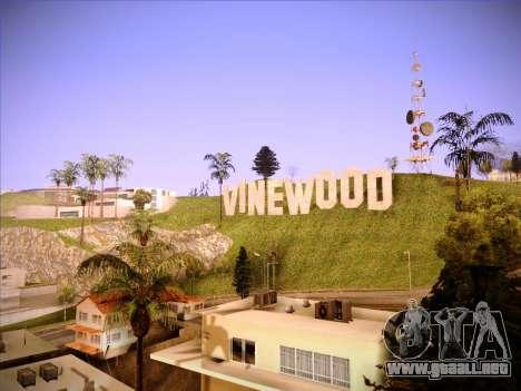 Nueva ENBSeries por MC_Dogg para GTA San Andreas segunda pantalla