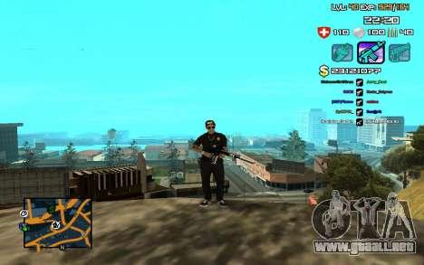 C-HUD by SampHack v.12 para GTA San Andreas