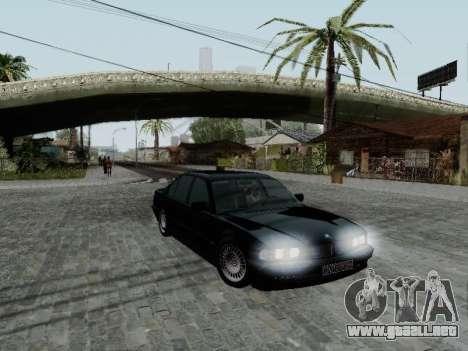 BMW 760i E38 para GTA San Andreas left