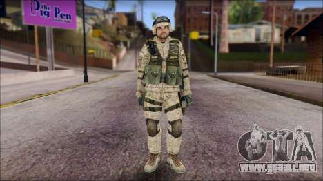 USA Soldier para GTA San Andreas