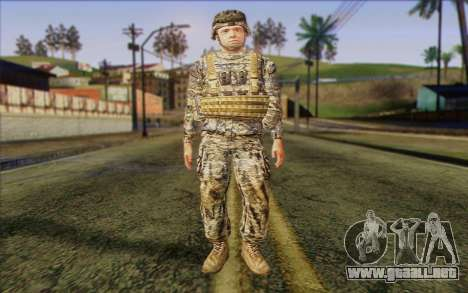 Soldados del Ejército de los estados UNIDOS (Arm para GTA San Andreas