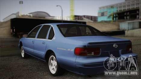 Chevrolet Impala 1996 para GTA San Andreas left