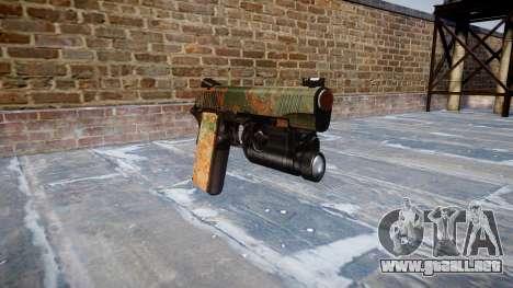 Pistola De Kimber 1911 De La Selva para GTA 4