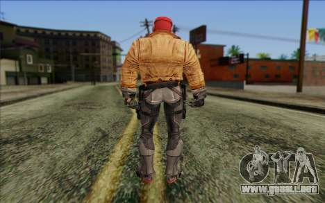 Red Hood from DC Comics para GTA San Andreas segunda pantalla