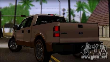 Ford F-150 2005 para GTA San Andreas left