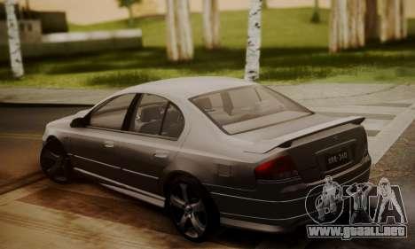 Ford Falcon XR8 para GTA San Andreas left