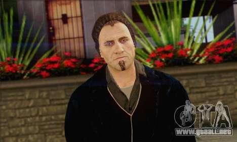 Damien from Watch Dogs para GTA San Andreas tercera pantalla