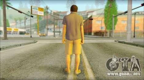 Michael De Santa para GTA San Andreas segunda pantalla