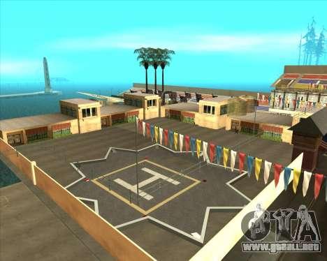 Sky Road Merdeka para GTA San Andreas quinta pantalla