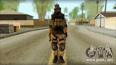 Mercenario (SC: Blacklist) v3 para GTA San Andreas