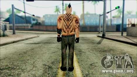 Manhunt Ped 16 para GTA San Andreas segunda pantalla
