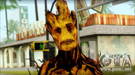 Guardians of the Galaxy Groot v2 para GTA San Andreas tercera pantalla