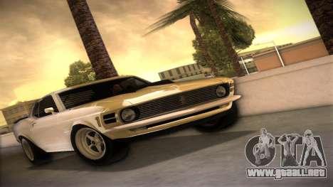 Ford Mustang 492 para GTA Vice City