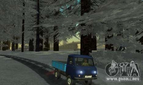 Nieve para GTA Penal de Rusia beta 2 para GTA San Andreas décimo de pantalla