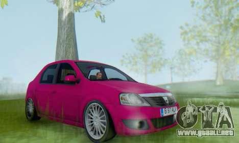 Dacia Logan 2013 para la visión correcta GTA San Andreas