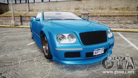 GTA V Enus Cognoscenti Cabrio para GTA 4