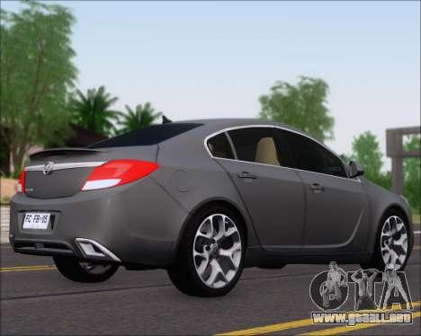 Opel Insignia OPC para GTA San Andreas
