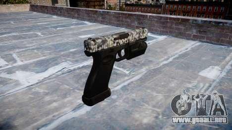 Pistola Glock 20 de diamante para GTA 4 segundos de pantalla