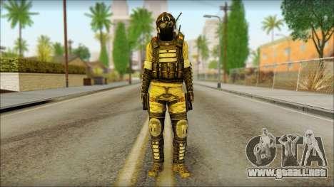 Mercenario (SC: Blacklist) v1 para GTA San Andreas