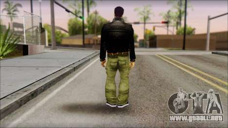 Shades Claude v1 para GTA San Andreas segunda pantalla