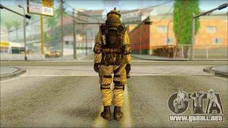 Mercenario (SC: Blacklist) v3 para GTA San Andreas segunda pantalla
