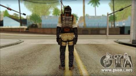 Mercenario (SC: Blacklist) v1 para GTA San Andreas segunda pantalla