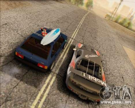 ВАЗ 2109 Baja Clásico para GTA San Andreas left