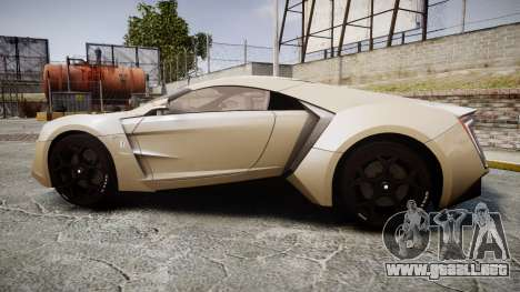Lykan HyperSport para GTA 4 left