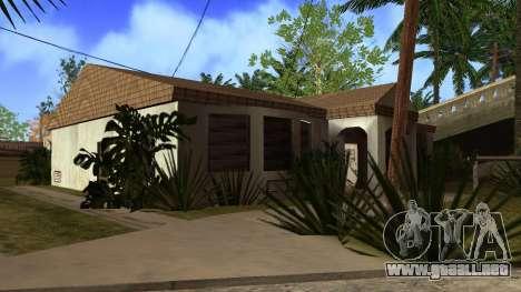 Nuevas texturas en HD casas en grove street v2 para GTA San Andreas décimo de pantalla