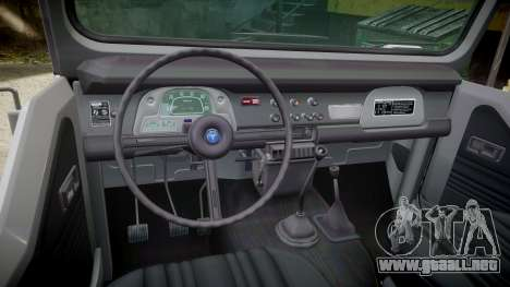 Toyota FJ40 Land Cruiser Soft Top 1978 para GTA 4 vista interior