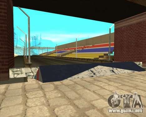 Sky Road Merdeka para GTA San Andreas segunda pantalla