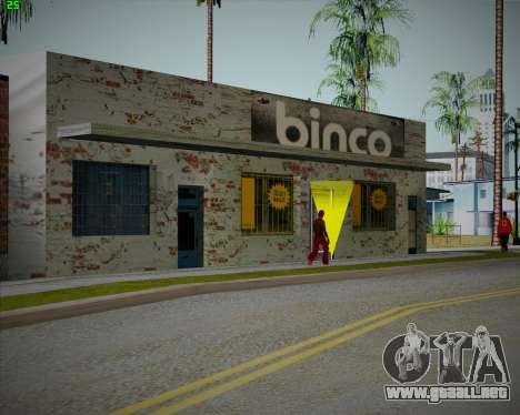 Rompe tienda de Binco para GTA San Andreas tercera pantalla