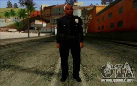 La policía (GTA 5) de la Piel 3 para GTA San Andreas
