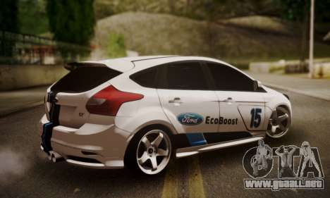Ford Focus ST Eco Boost para GTA San Andreas left