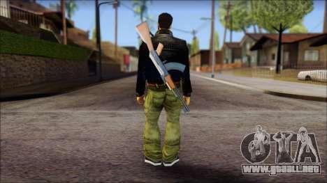 Shades and Gun Claude v2 para GTA San Andreas segunda pantalla