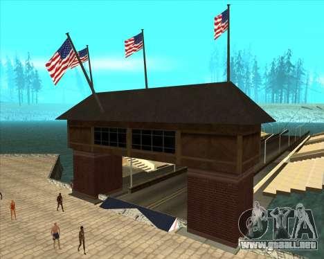 Sky Road Merdeka para GTA San Andreas