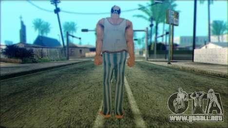 Manhunt Ped 8 para GTA San Andreas segunda pantalla