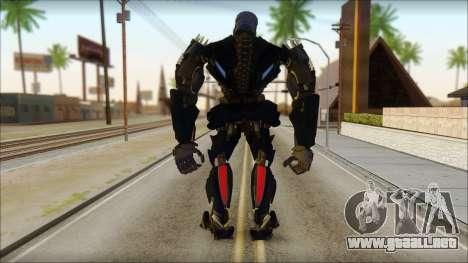 Bloqueo de seguridad para GTA San Andreas segunda pantalla