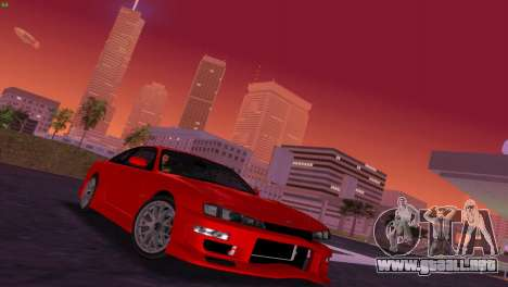 Nissan Silvia S14 RB26DETT Black Revel para GTA Vice City