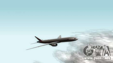 Boeing 777-280ER Asiana Airlines para GTA San Andreas left