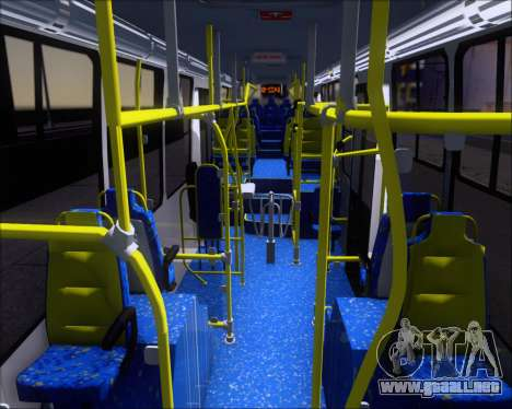 Caio Millennium II Volksbus 17-240 para visión interna GTA San Andreas
