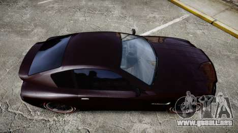 GTA V Schyster Fusilade v2 para GTA 4 visión correcta