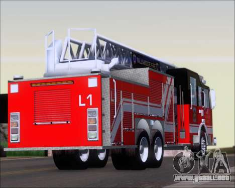 Pierce Arrow XT TFD Ladder 1 para la visión correcta GTA San Andreas