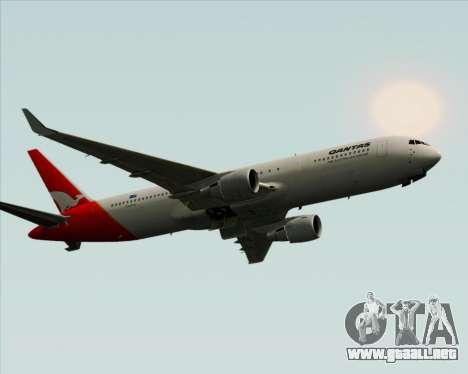 Boeing 767-300ER Qantas para la visión correcta GTA San Andreas